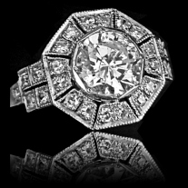 Art Deco Collection Ring
