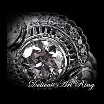 Delicati Art Ring
