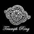 Triumph Platinum Ring