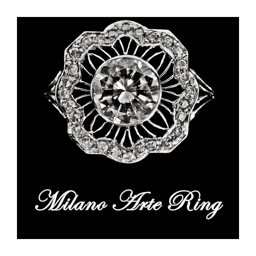 Milano Platinum Ring