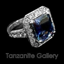 Gallery Tanzanite Ring