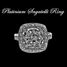 Platinium Sagatelli Ring