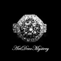 Art Deco Mystery Ring