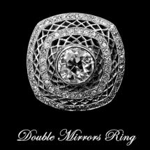 Double Mirrors Ring