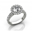 Premium Selection LUXURY HALO RING