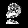 Pierścionek w stylu Art Deco z brylantem ~1,44ct