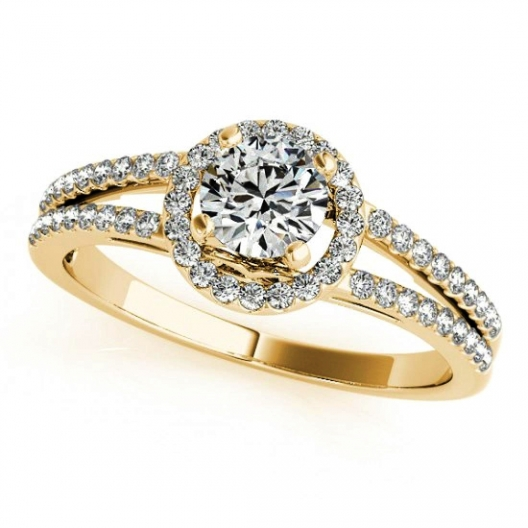 Pierścionek Zaręczynowy Z Brylantem Na Zamówienie