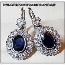 Blue Magic Earrings