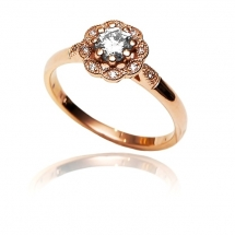 M&M GOLD - Piękny pierścionek- brylantowy