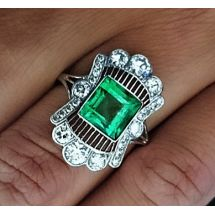 Especially Emerald Ring