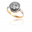 Pierścionek złoty z brylantem 1.45ct