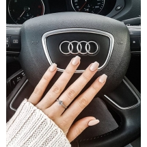 @magda_anita_ Pierścionek zaręczynowy z brylantem whiteluxury 718