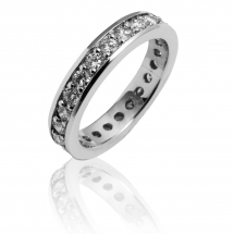 LUXURY BANDS obrączka z brylantami 1.00ct