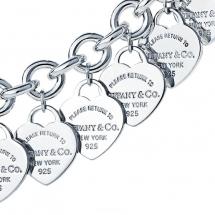 Tiffany & Co - Naszyjnik srebrny 925