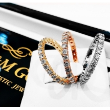 NEW ARRIVAL obrączki z brylantami LUXURY BANDS