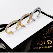 NEW ARRIVAL 3CT obrączki z brylantami LUXURY BANDS