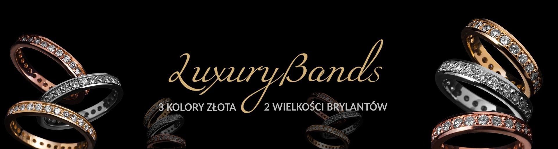 Obrączki z brylantami luxurybands