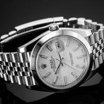 Rolex Datejust 41 - Biały cyferblat