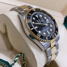 Rolex Submariner Date 40 Złoto oraz stal.