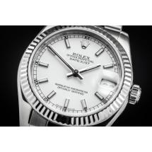 Rolex Datejust 31. Stal szlachetna i białe złoto