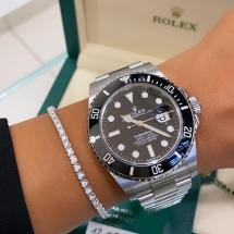 NOWY 2021 Rolex Submariner Date 41- Stal szlachetna