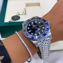 2021 NOWY Rolex GMT-Master II niebiesko czarny BATMAN