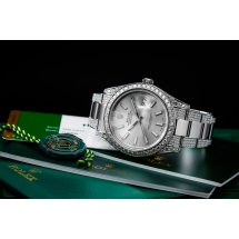 Brylantowy Rolex Datejust 41 - 7.02ct brylantów wysokiej jakości