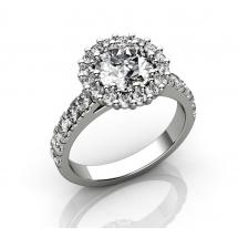 Premium Selection LUXURY HALO RING