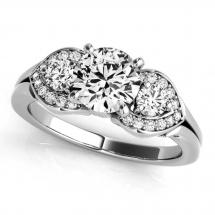 HIGH JEWELS 2.45ct D/VVS Double Diamond