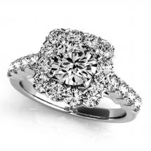 pierścionek z brylantami zareczynowy 1 karat 1ct