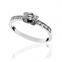 pierścionek zaręczynowy z brylantem warszawa