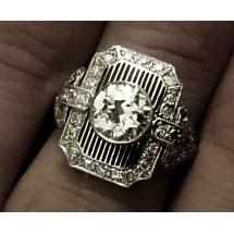 Vinetti Platinum Ring