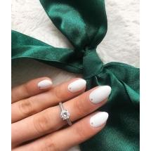 @annyaaaaa__ Pierścionek zaręczynowy z brylantem whiteluxury 719