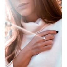 @magdalena.mska Pierścionek zaręczynowy z brylantem whiteluxury 736