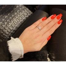 @paulinaczerwonka Pierścionek zaręczynowy z brylantem whiteluxury 721