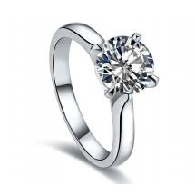 SALE - Pierścionek zaręczynowy z brylantem 1 karat
