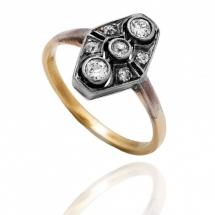 Dawny pierścionek z diamentami, Wiedeń, lata 30 XX w.