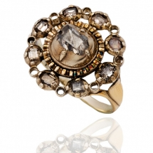 Dawny pierścionek z diamentami, Niemcy, lata 30 XX w.