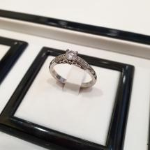 BABY DIAMOND LINE Pierścionek zaręczynowy z brylantem