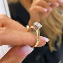 Artystyczny pierścionek zareczynowy ARTISTIC ONE